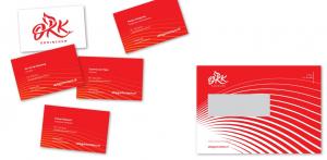 Visitekaartjes en envelop